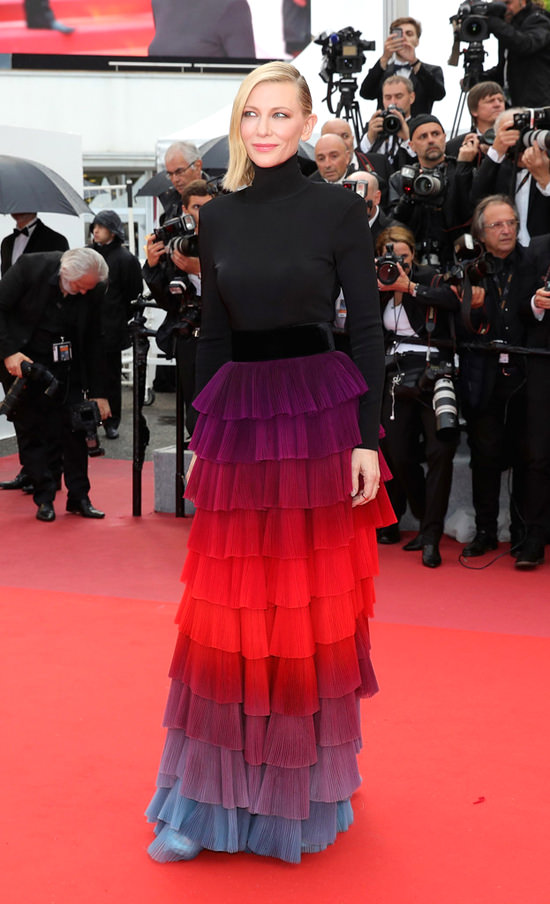cate blanchett givenchy couture
