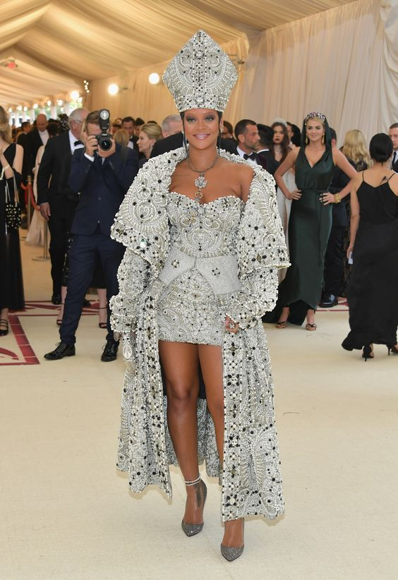 rihanna margiela by galliano