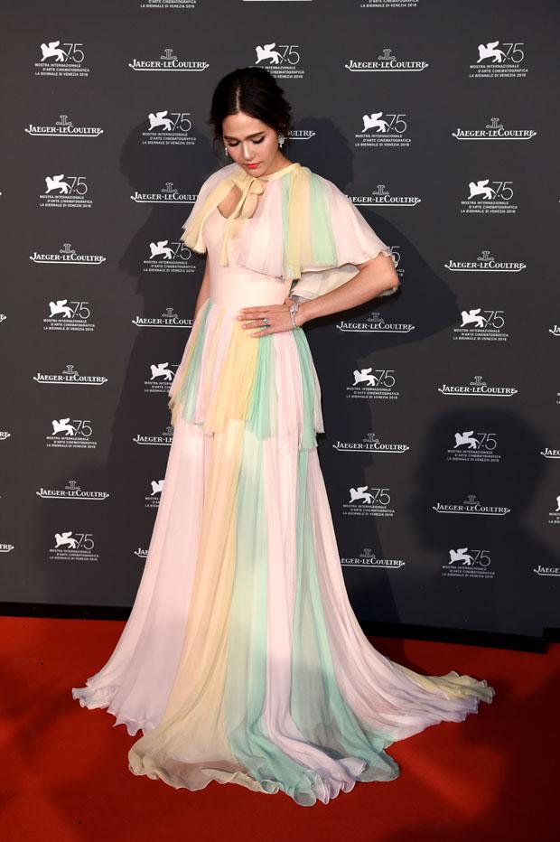 Jaeger-LeCoultre Hosts Gala Dinner In Venice: Arrivals - 75th Venice International Film Festival