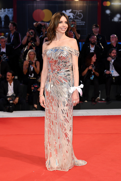 The Sisters Brothers Red Carpet Arrivals - 75th Venice Film Festival