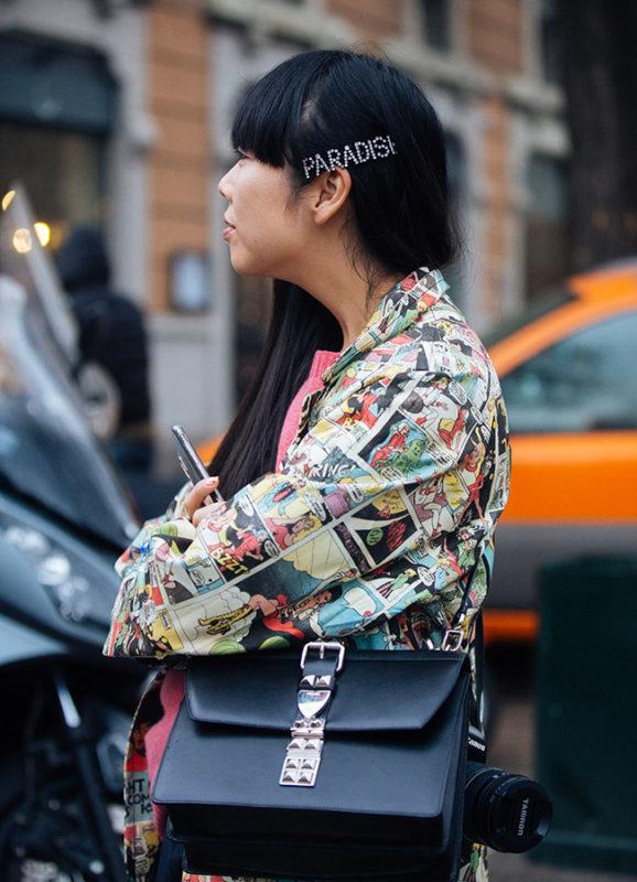 Street Style: February 22 - Milan Fashion Week Fall/Winter 2018/19