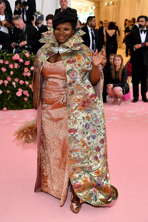 met-gala-2019--Bevy-Smith kimberley goldson, dapper dan gucci