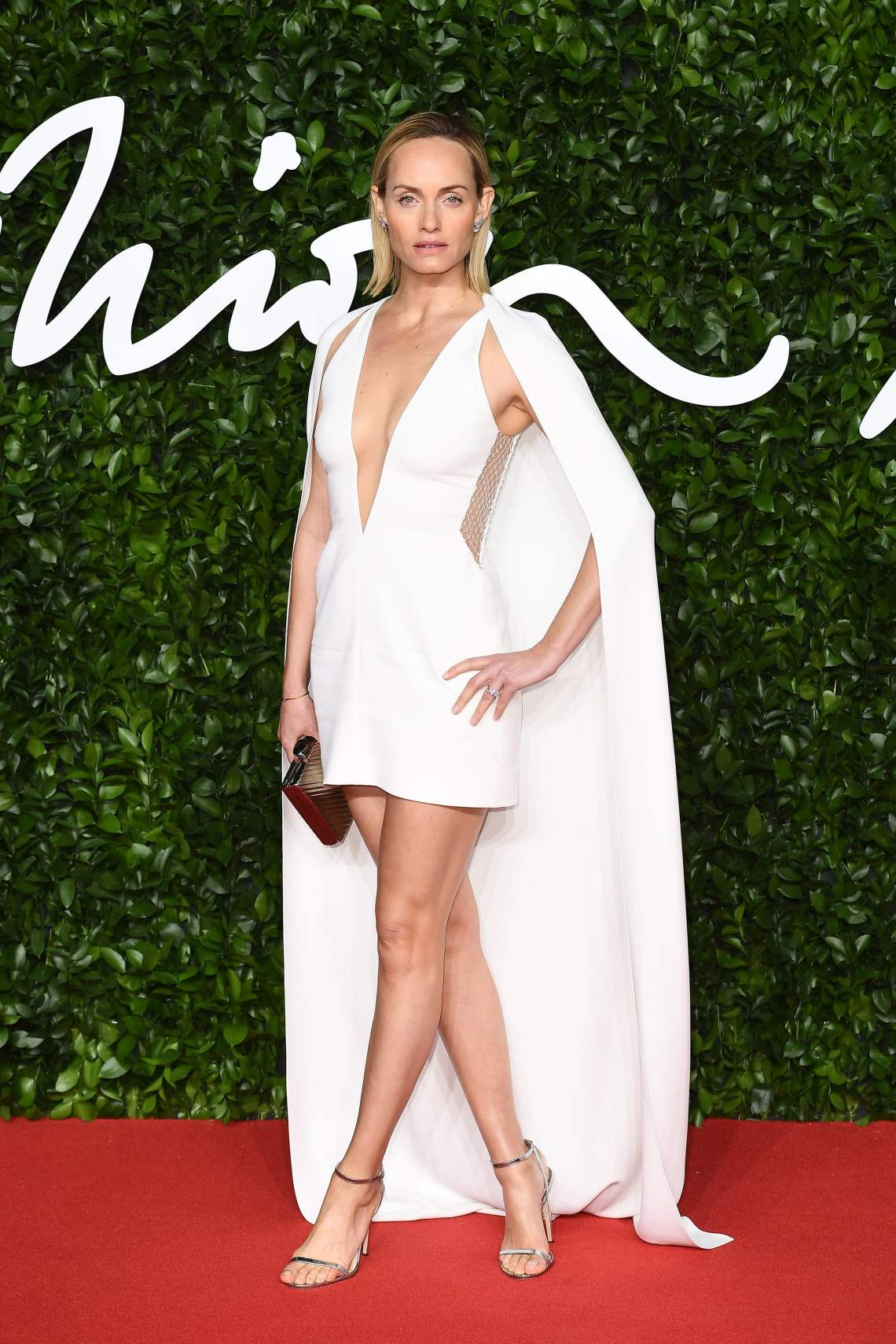 Amber-Valletta-at-British-Fashion-Awards-2019-in-London