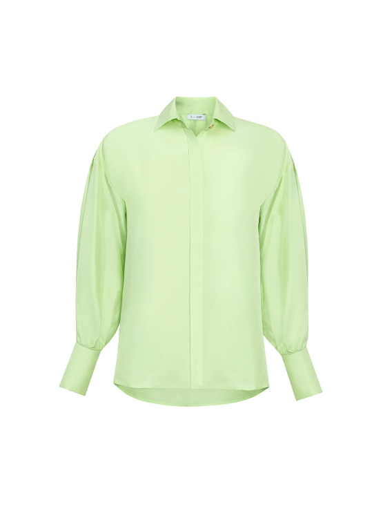 UNIFORM_Mint_Cupro_Silk_Shirt1
